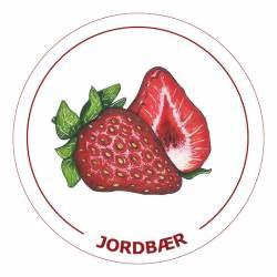 Jordbær6,1x6,1cm