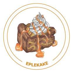 Eplekake-2-21x21cm